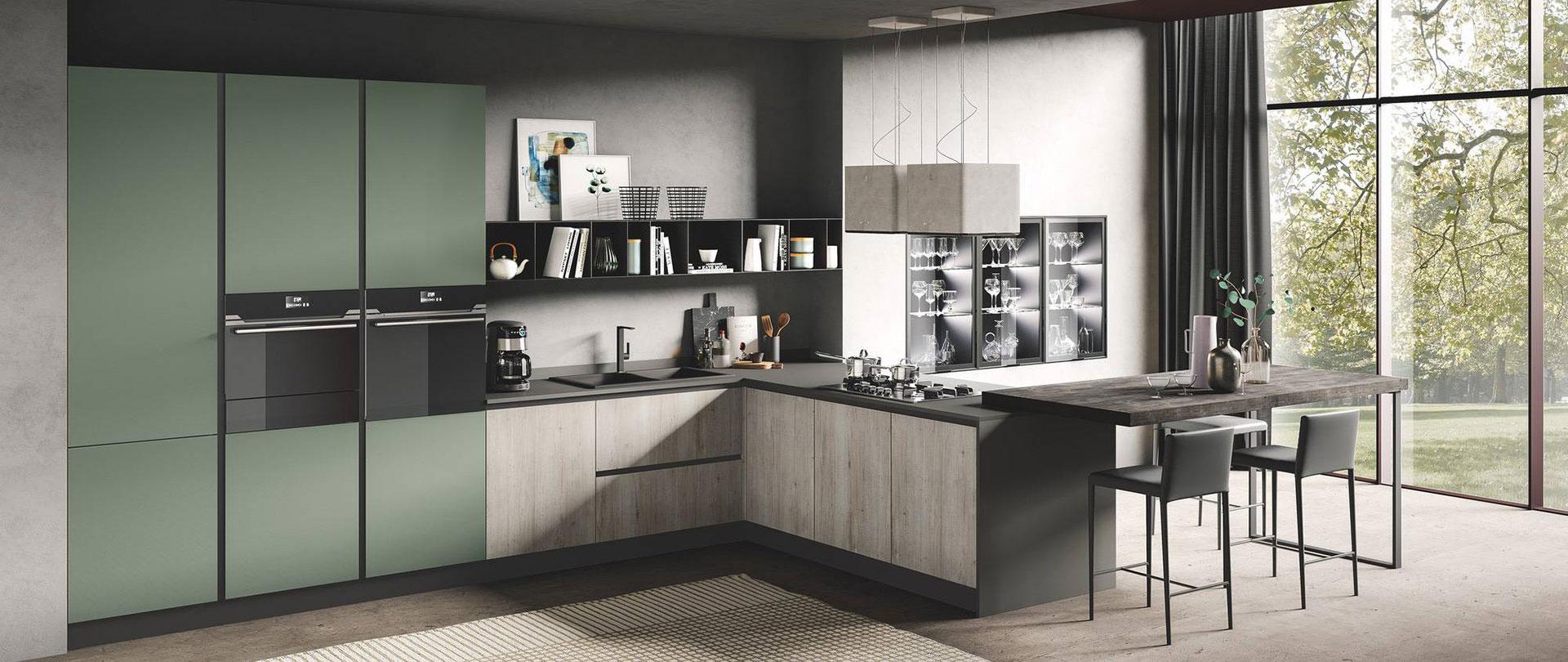 06_cucina_moderna_design_star_corda-tavolato_verde-muschio-opaco